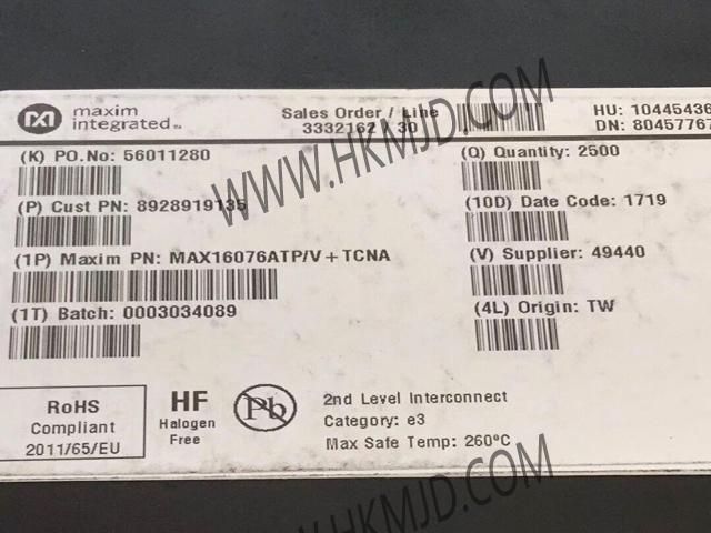 MAX16076ATP