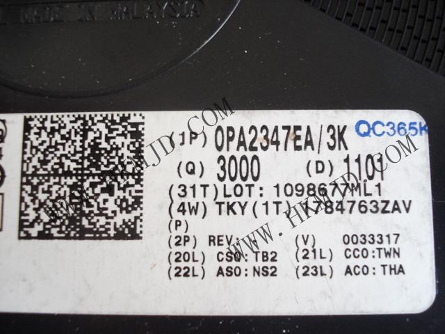 OPA2347EA