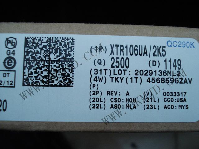 XTR106UA
